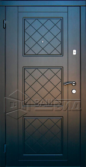 Дверь Рока двухцветная (входная квартира)