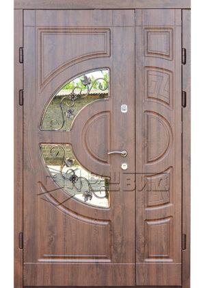 Дверь ГР склопакет 2 (входная улица)