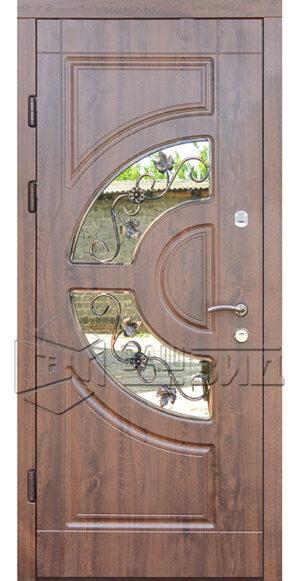 Дверь ГР стеклопакет (входная улица)