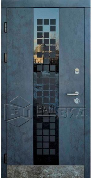 Дверь Манхетен двухцветная (входная улица)