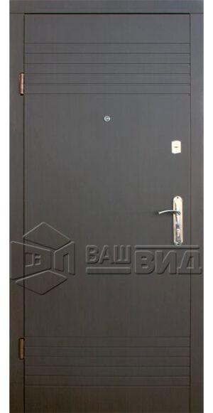 Дверь Вилла ПВХ (входная улица)