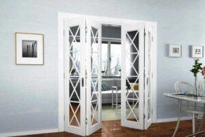 Двери гармошка и их особенности