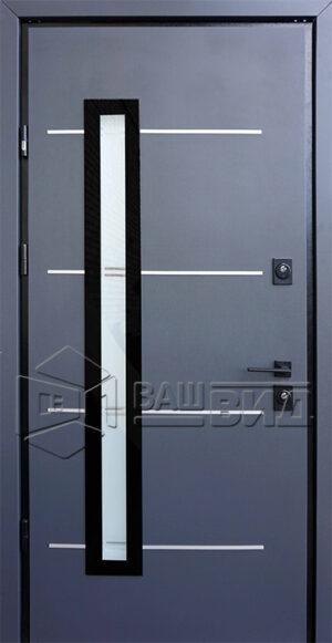 Дверь Giada E двухцветная (входная улица)