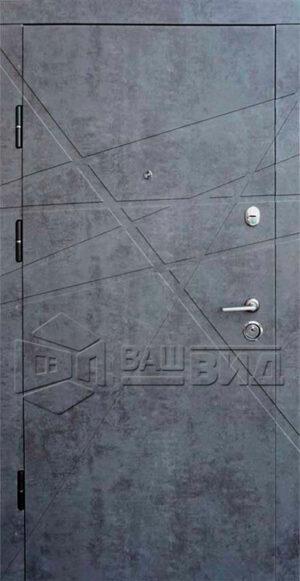 Дверь Имидж 2 двухцветная (входная квартира)