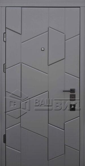 Дверь Matrix двухцветная (входная квартира)