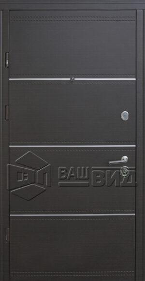 Дверь Мела D двухцветная (входная квартира)
