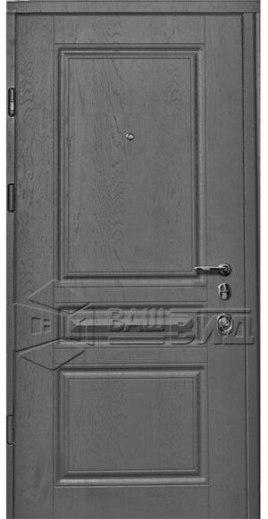 Дверь Рубин двухцветная (входная квартира)
