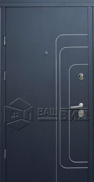 Дверь Трек двухцветная (входная квартира)