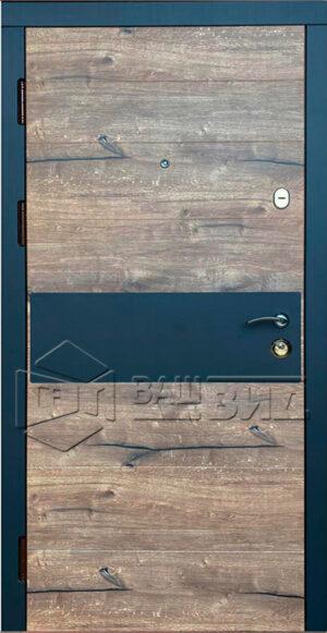 Дверь Комби 2 (входная квартира)