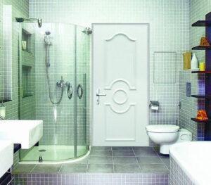 Выбор двери для ванной комнаты.