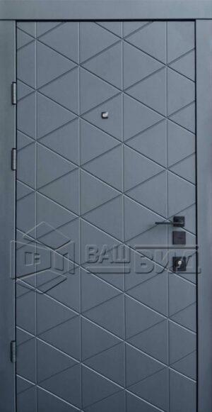 Дверь Бакарди двухцветная (входная квартира)