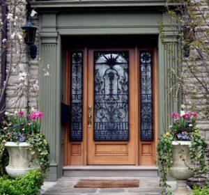 Вуличні вхідні двері