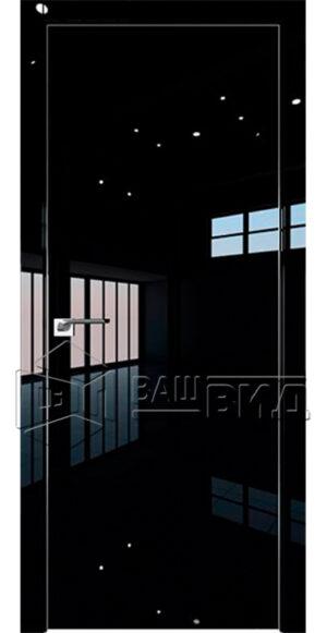 Межкомнатные двери 1 LK – Чёрный Люкс