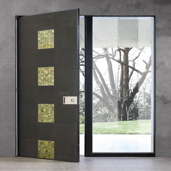 Дерев'яні вхідні двері