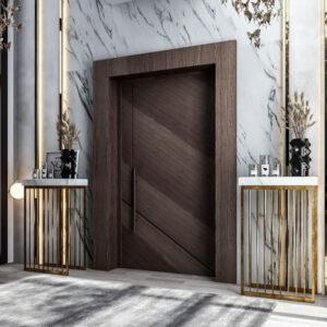 Двері вхідні дерев'яні фото у Київі